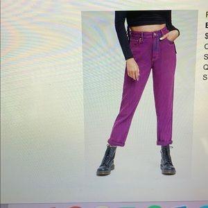Pacsun Purple Mom Jeans